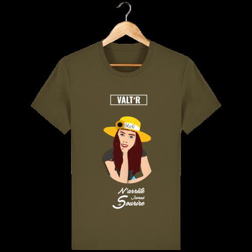 VALT'R | T-shirt enfant «N'arrête jamais de sourire»