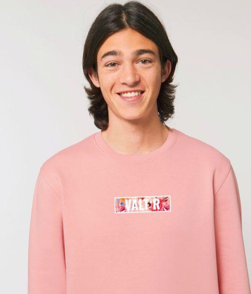 Valt'R | Pull adulte unisexe avec le logo VALTR décoré