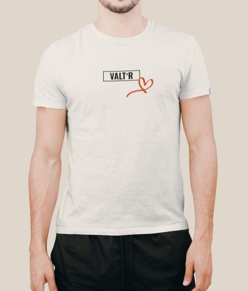 Valt'R | T-shirt homme coeur