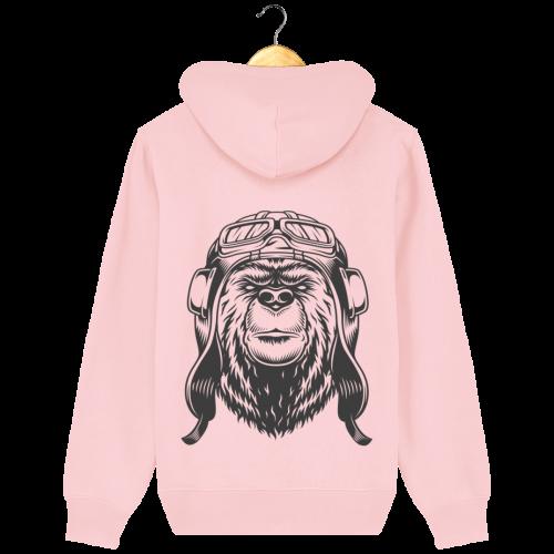 valt-r-sweat-unisexe-adulte-ours-aviateur-dessin-au-verso_cotton-pink_dos