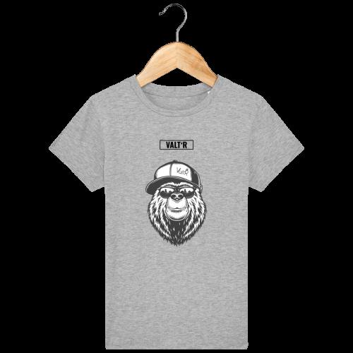 VALT'R | T-shirt enfant ours à la casquette