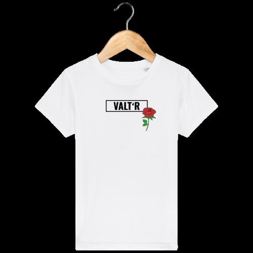 VALT'R | T-shirt enfant avec une rose