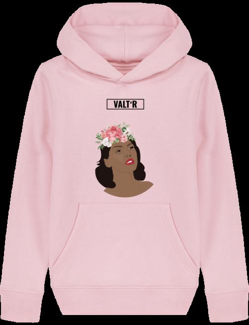 VALT'R | Sweat enfant femme aux roses
