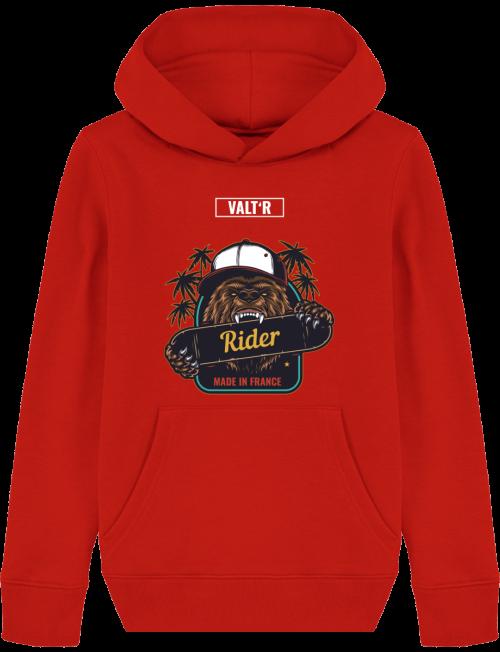 VALT'R | Sweat enfant ours rider
