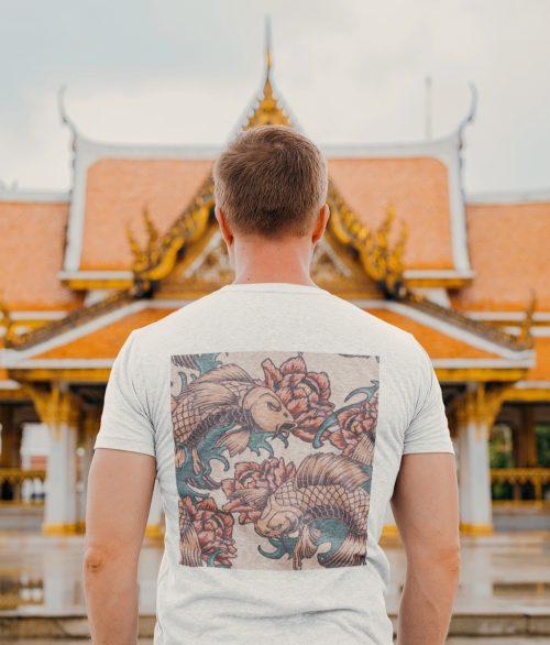 T-shirt homme carpe koi