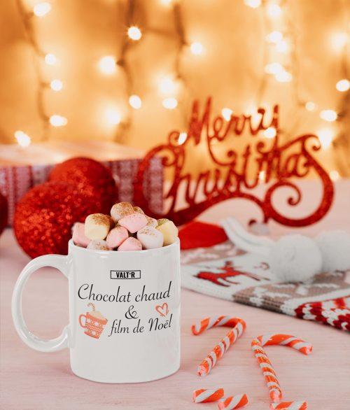 Mug chocolat chaud + film de Noël