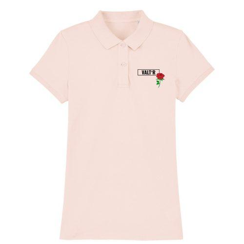VALT'R | Polo femme en coton BIO rose