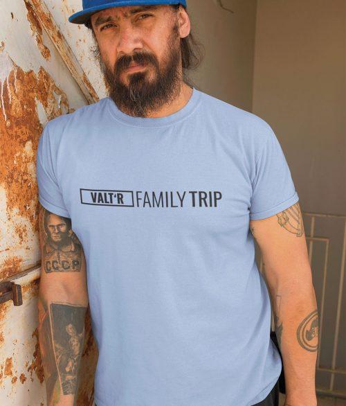 T-shirt en coton bio Family trip