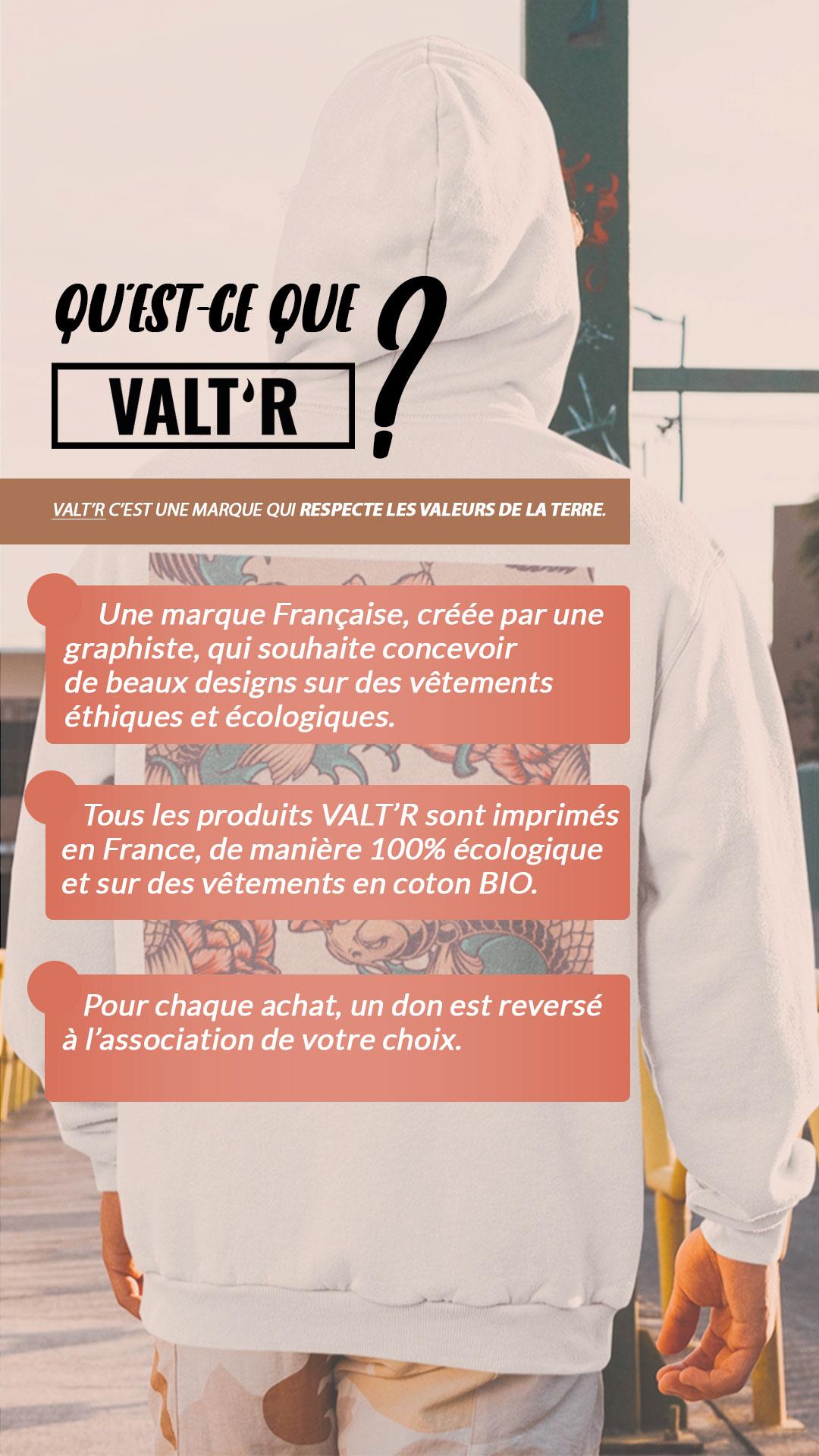 La marque VALTR