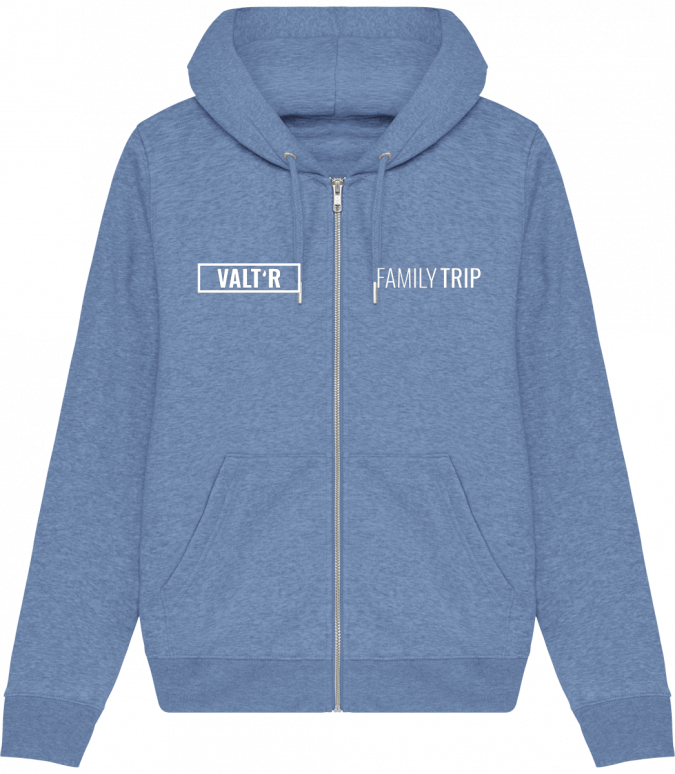 VALT'R | sweat-zip-capuche-femme-stella-editor_mid-heather-blue_face VALTR
