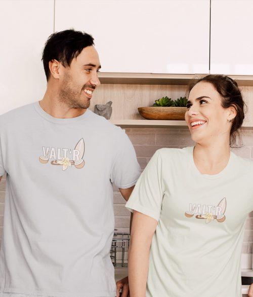 T-shirt unisexe en coton bio – «cocotier»