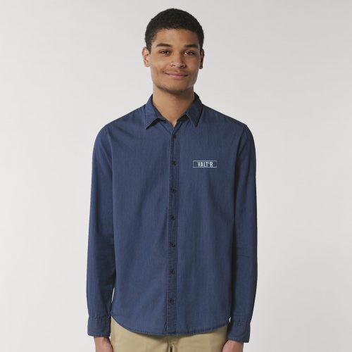 Chemise Homme avec logo brodé